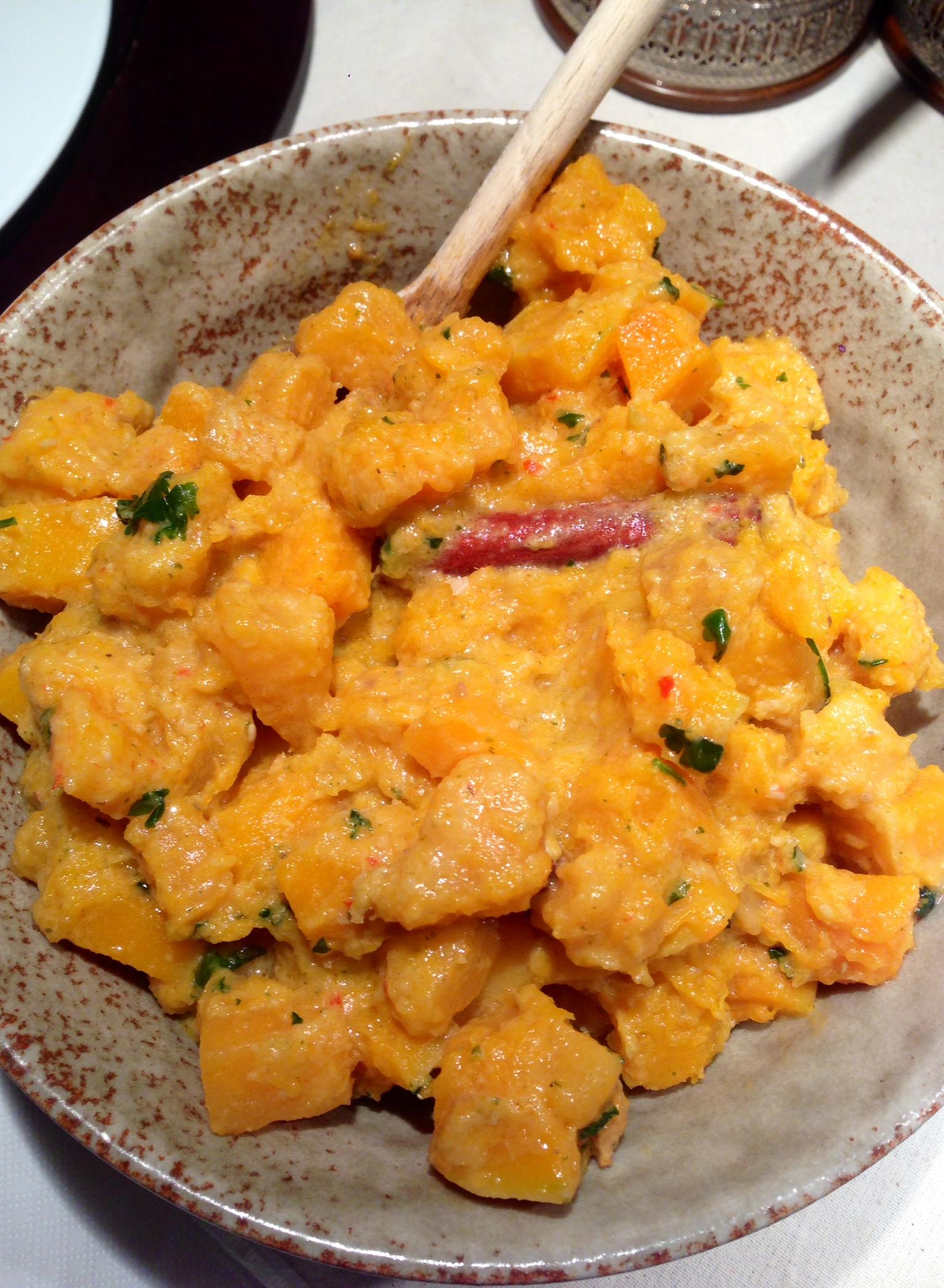 Curry Rosso Thai Masaman di Batata e Zucca Butternut
